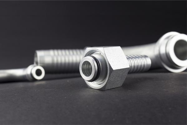 24 Grad Kegel Metrisches Gewinde Standard DKOL DKOS Hydraulikverschraubung