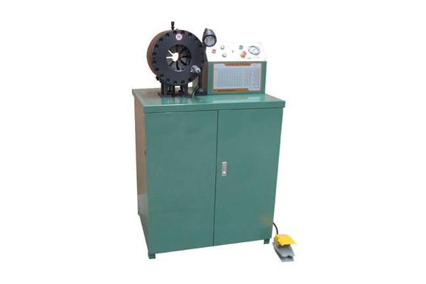 Hydraulische Rohrquetschmaschine